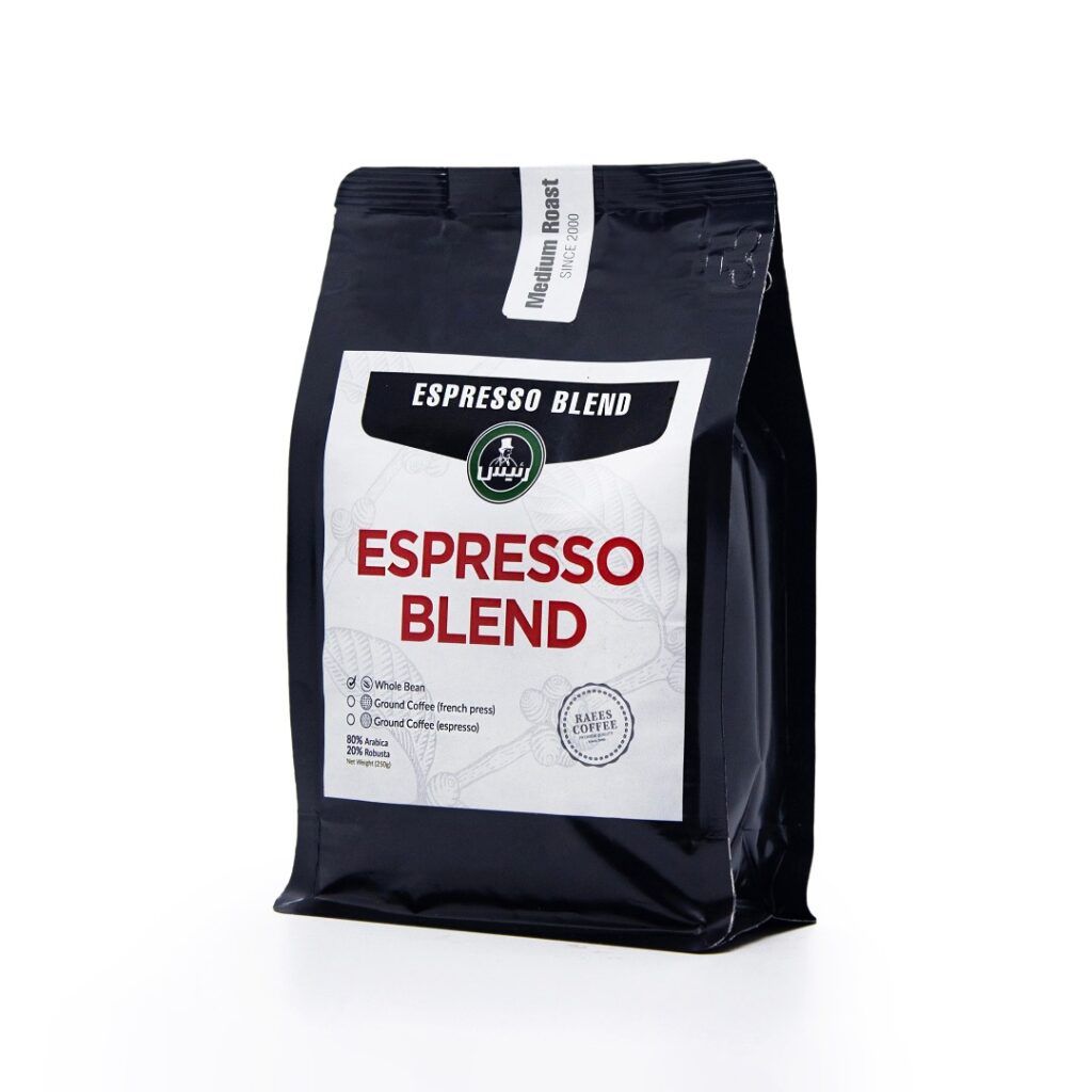 قهوه اسپرسو بلند-در یک فنجان قهوه چه مقدار کافئین وجود دارد؟