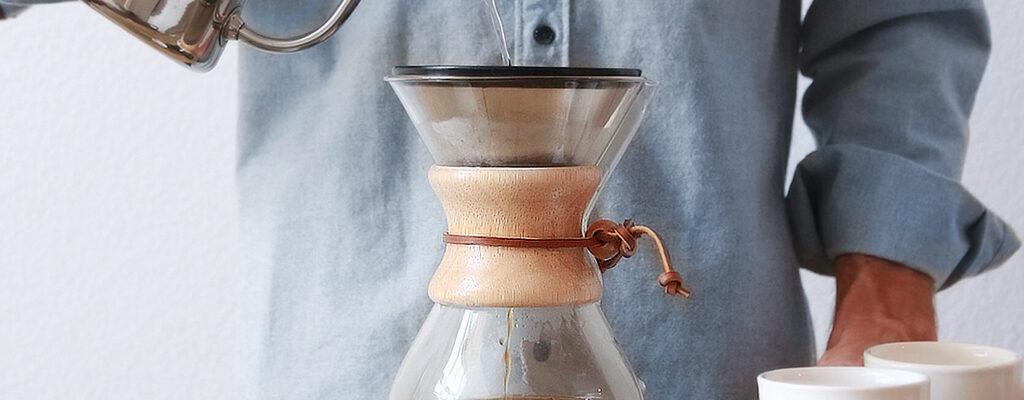 آموش دم آوری قهوه با ابزار کمکس