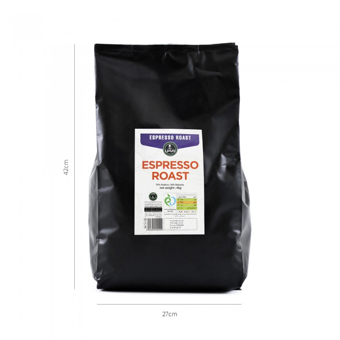 قهوه اسپرسو روست ۴ کیلوگرمی