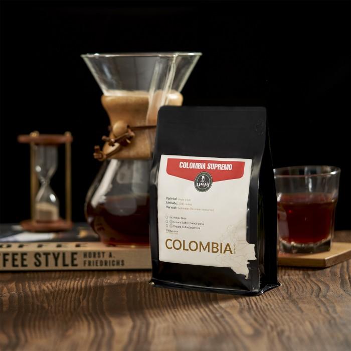 قهوه کلمبیا سوپریمو مدیوم ۲۵۰ گرمی