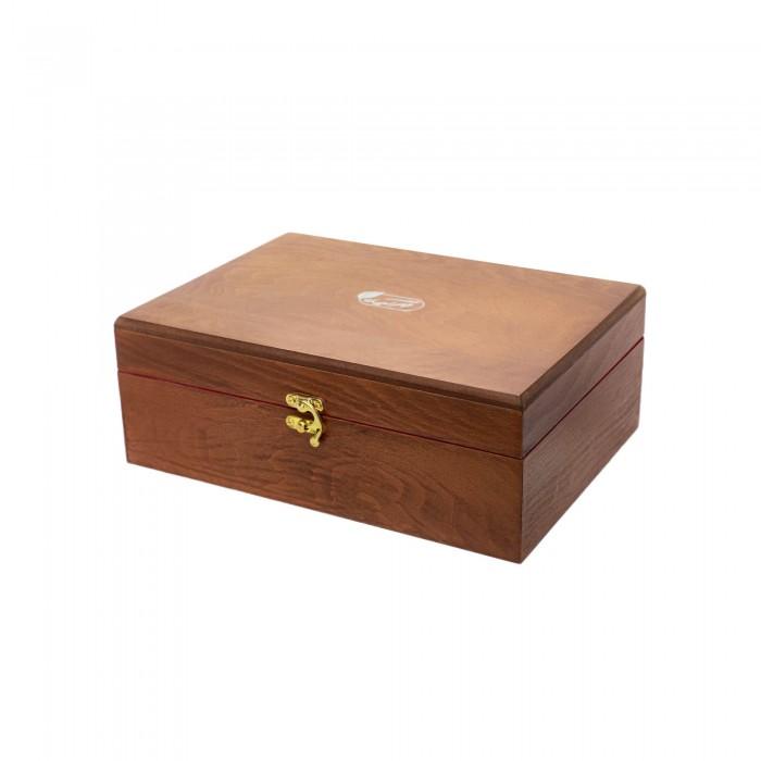 جعبه چوبی ۶۰ عددی دمنوش مهرگیاه