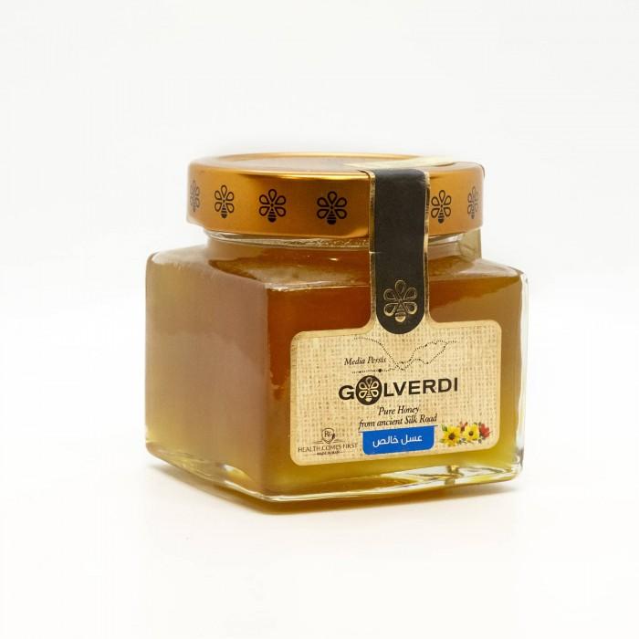 عسل چهل گیاه ۲۵۰ گرمی گل وردی