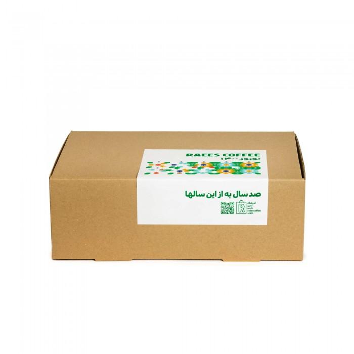 جعبه بوستان قهوه برزیل